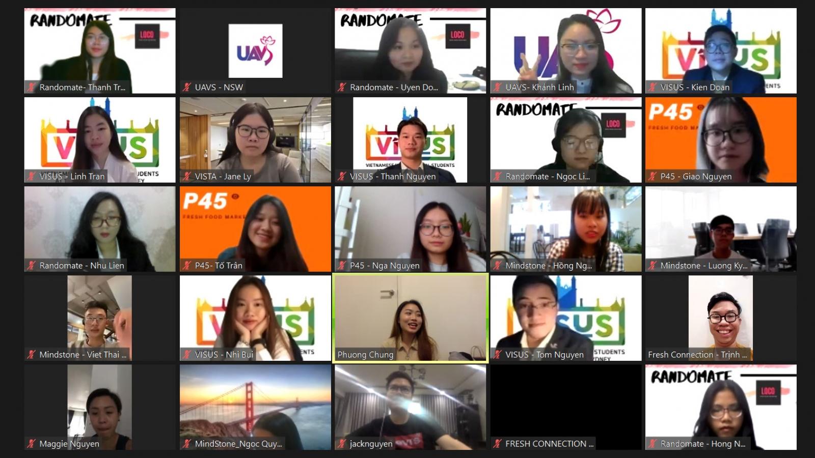 Sinh viên Việt Nam tại Australia phát triển ý tưởng kinh doanh