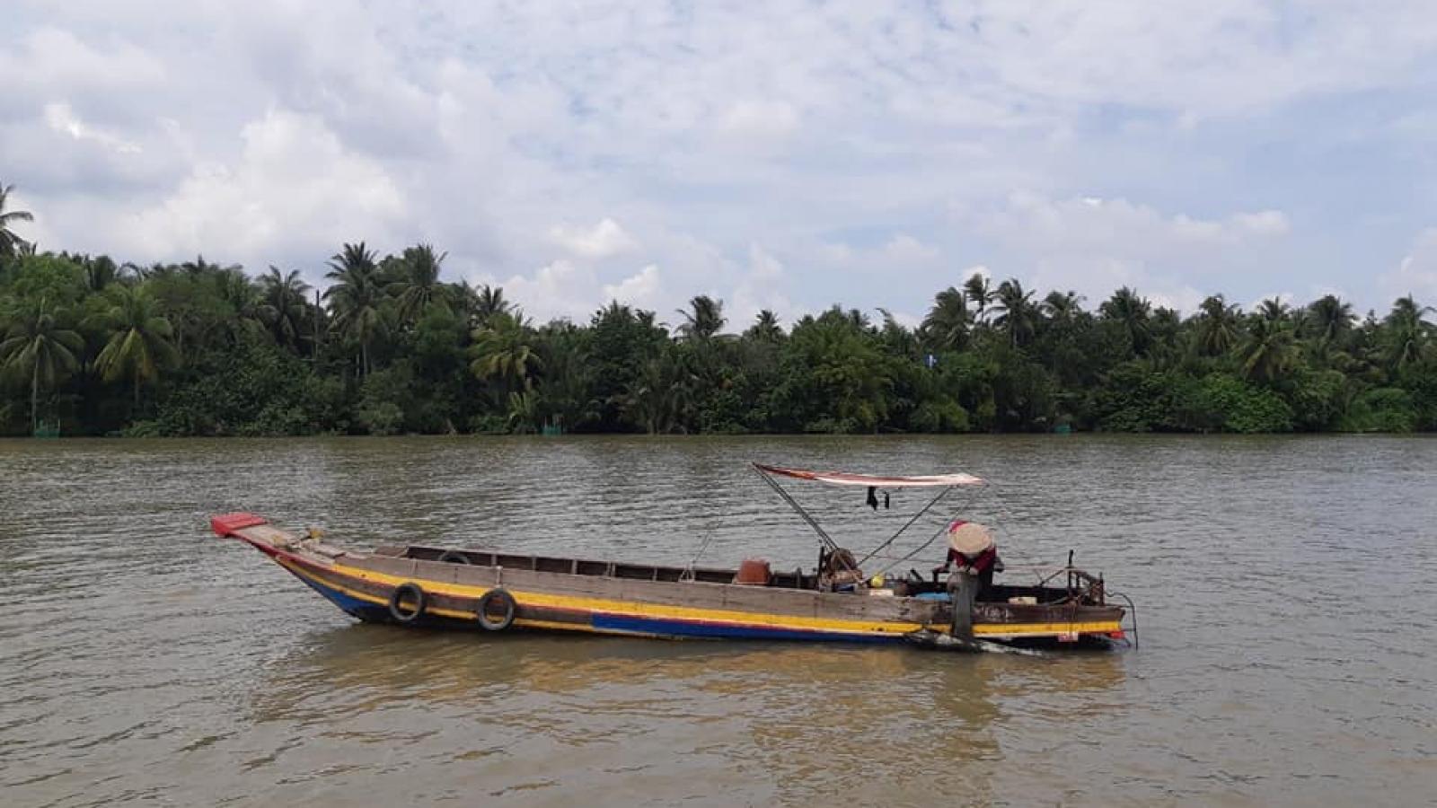 Tìm thấy nạn nhân mất tích do chìm ghe trên sông Cái Quao