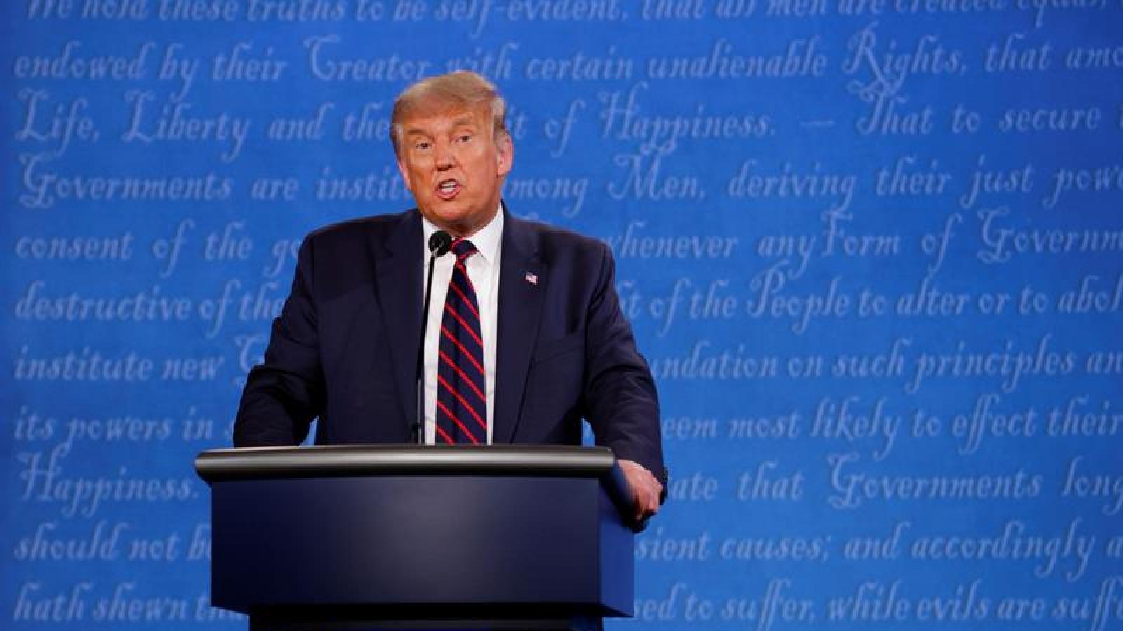 Tổng thống Trump: Chúng tôi đã dễ dàng chiến thắng cuộc tranh luận đầu tiên