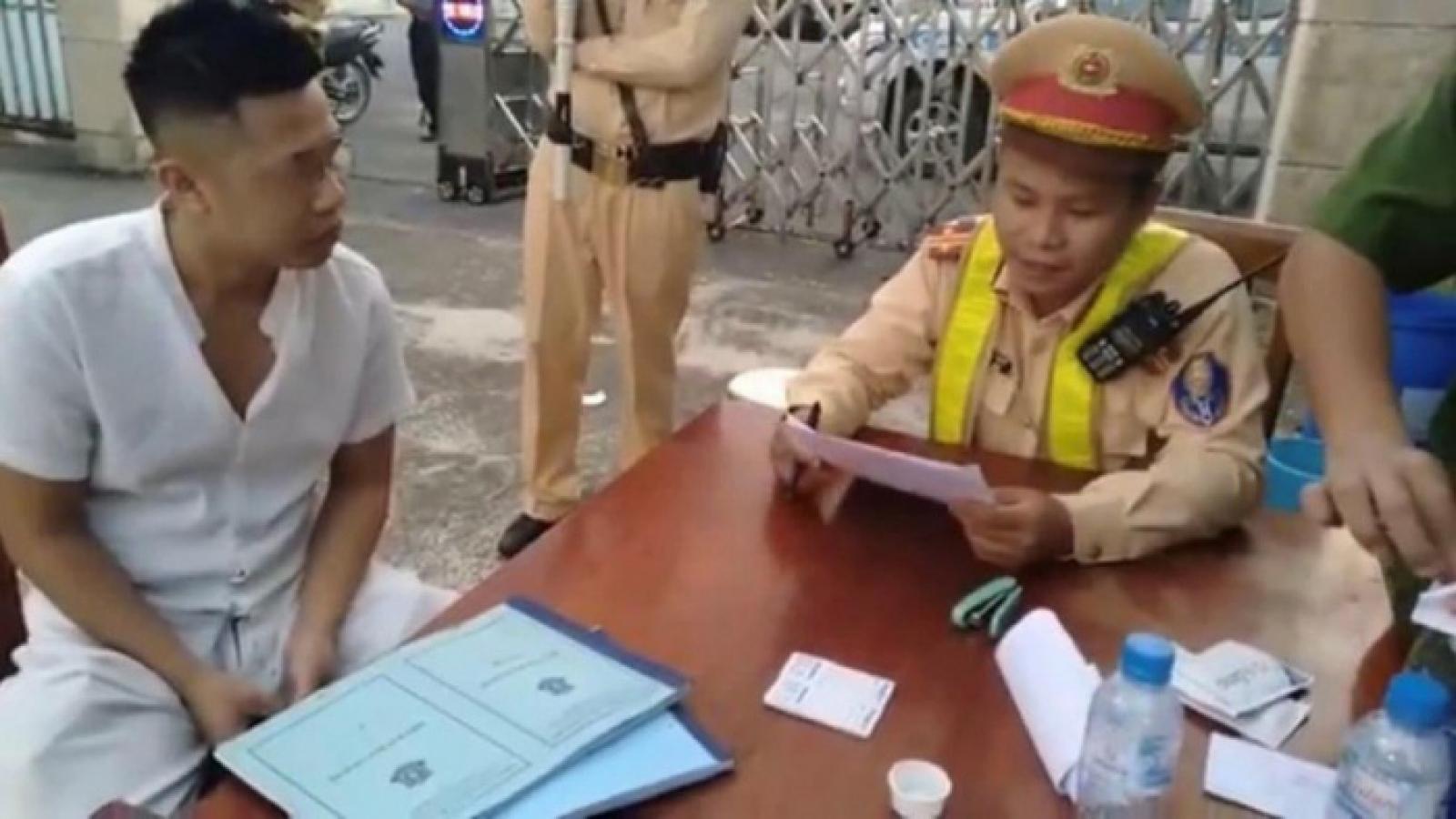 Phát hiện nhiều lái xe dương tính ma túy trên cao tốc Hà Nội – Lào Cai