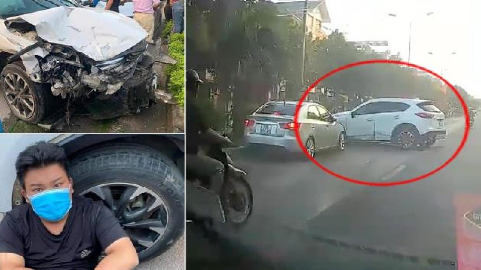 Ô tô đâm liên hoàn rồi bỏ chạy làm 1 người chết, nhiều người bị thương