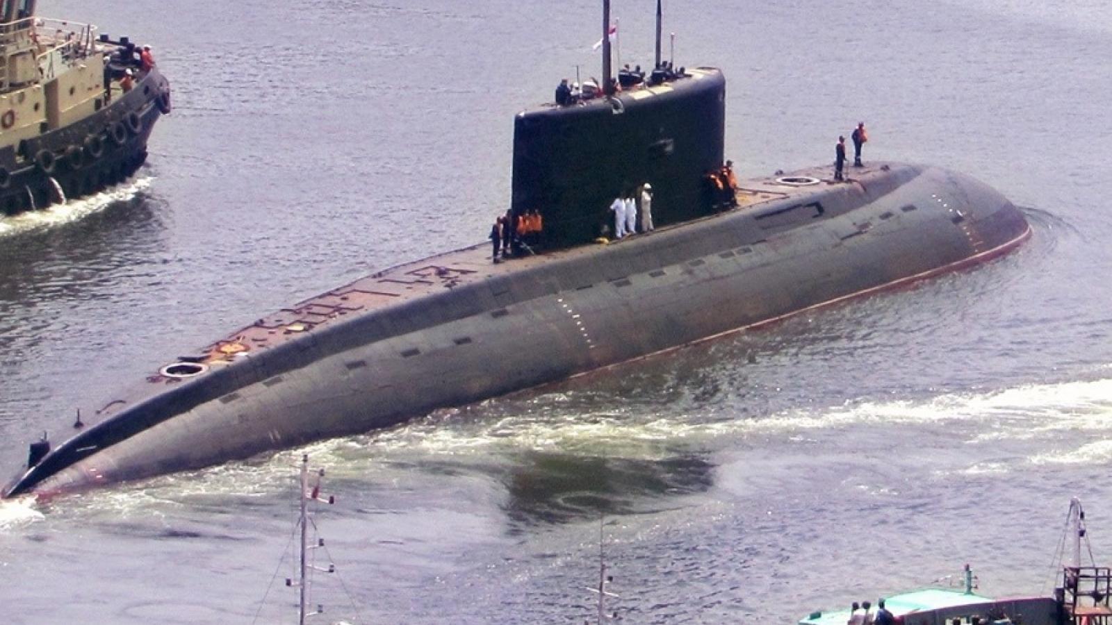 Ấn Độ chuyển giao tàu ngầm lớp Kilo cho Myanmar