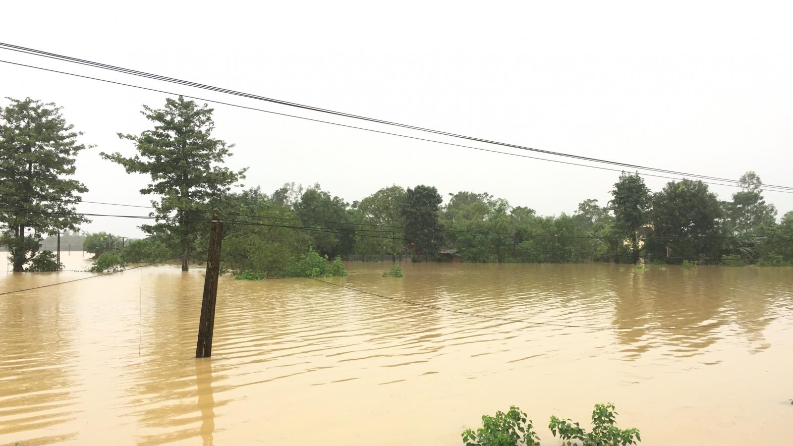 Gần 1.000 hộ dân ở Thanh Chương (Nghệ An) bị nước lũ cô lập