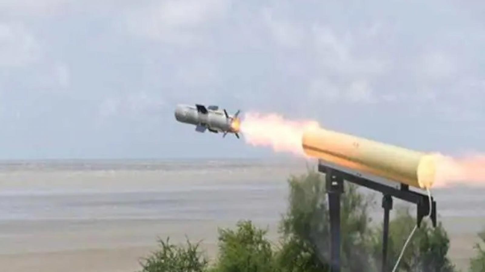Ấn Độ thử thành công tên lửa dẫn đường chống tăng