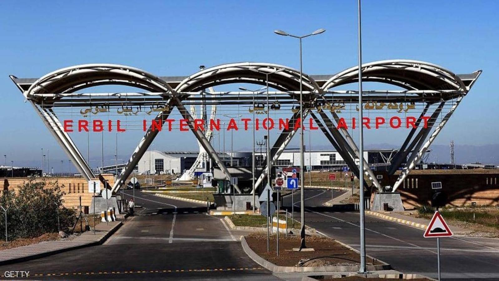 Sân bay Erbil của Iraq bị tấn công tên lửa