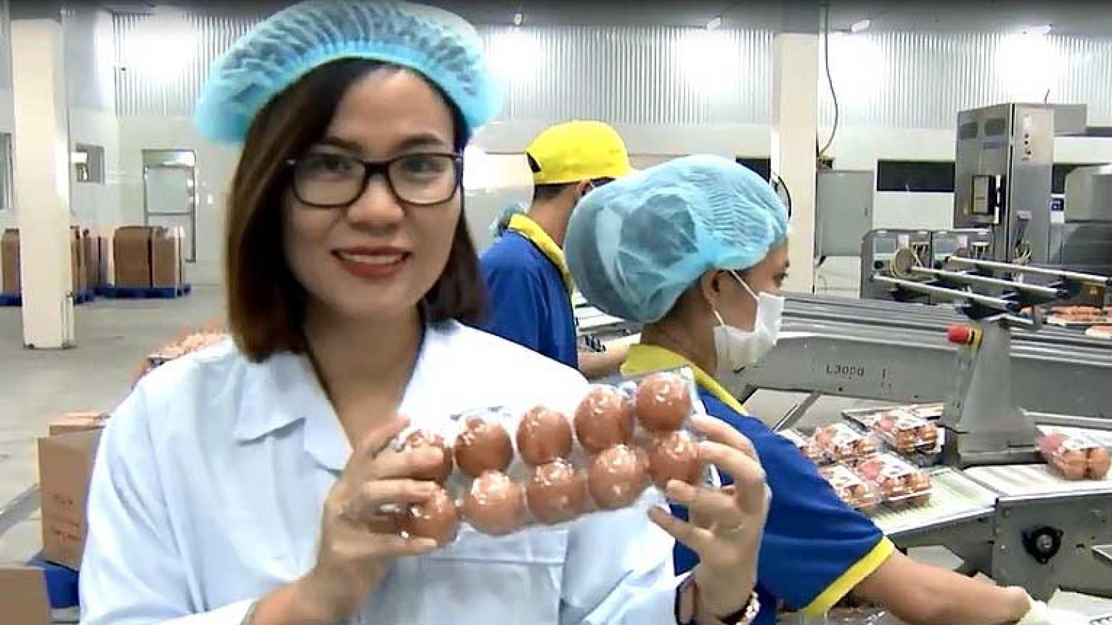 Thương hiệu trứng gia cầm Việt Nam vươn ra thế giới