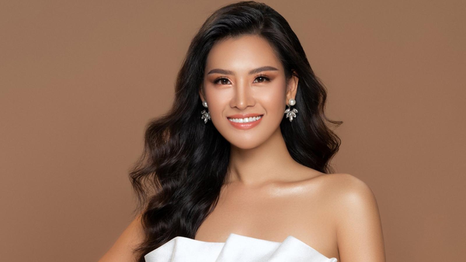 Thai Thi Hoa showcases Vietnamese landscapes at Miss Earth 2020