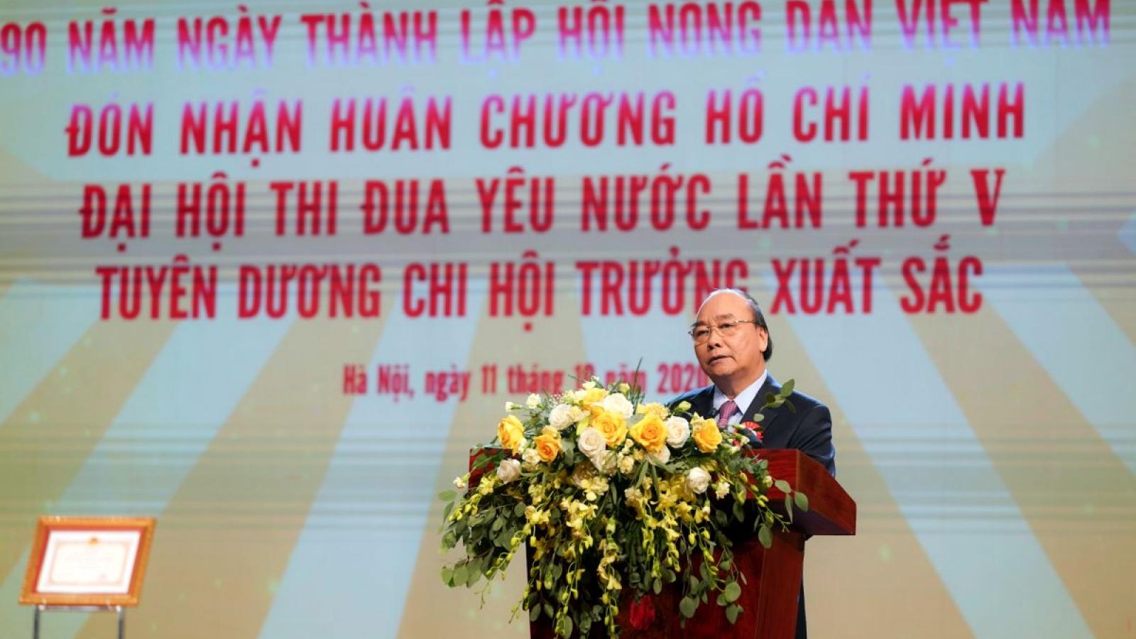 Thủ tướng: Chúng ta tin tưởng giai cấp nông dân Việt Nam tự cường, sáng tạo
