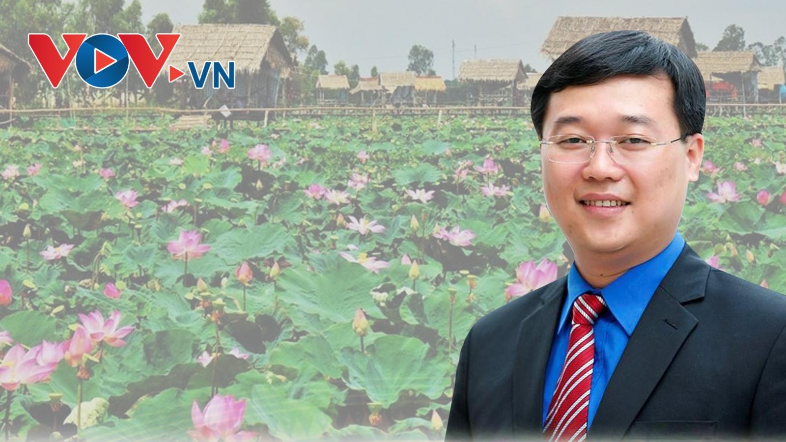 Chân dung ông Lê Quốc Phong - Bí thư Tỉnh ủy trẻ nhất cả nước