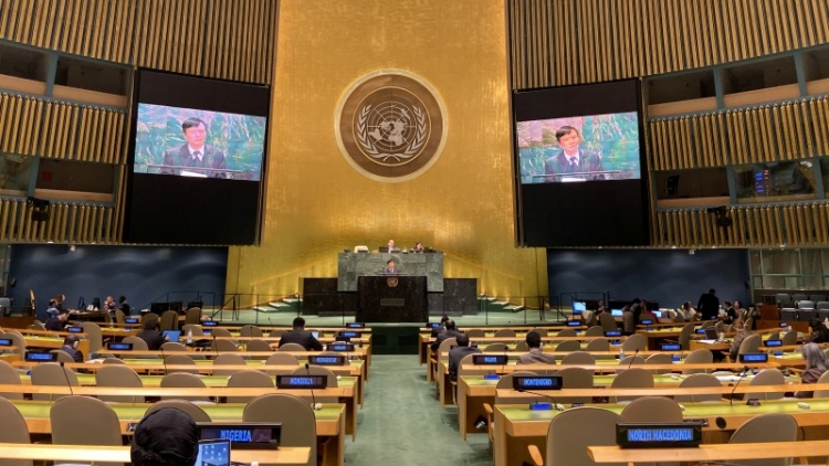 Vietnam upholds role of international law in maintaining peace and security