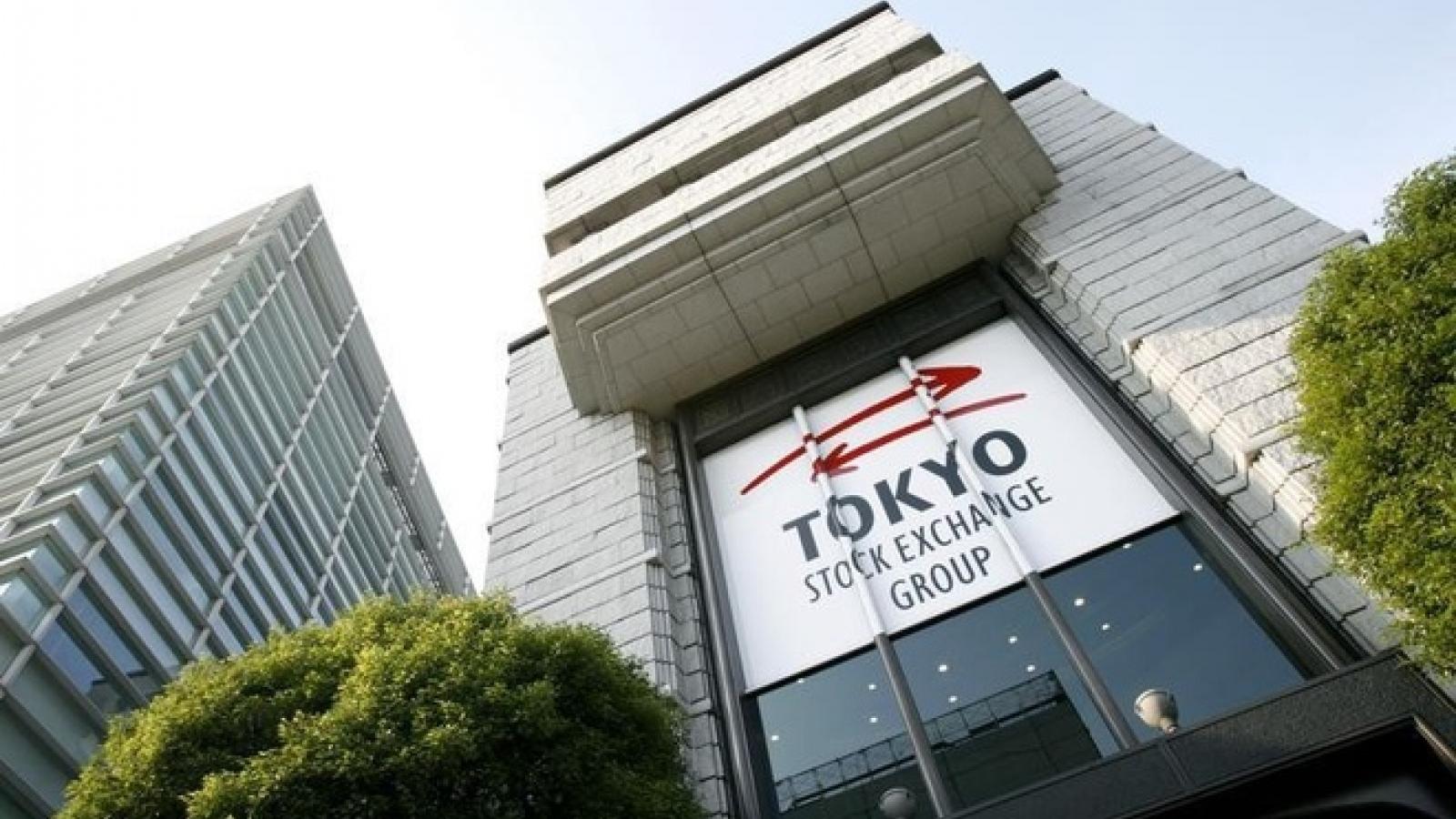 Sở giao dịch chứng khoán Tokyo lần đầu tiên phải dừng hoạt động kể từ năm 1999