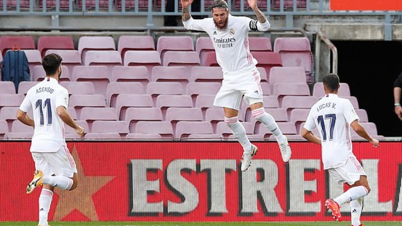Messi im tiếng - VAR ngoảnh mặt, Barca thảm bại 1-3 trước Real ở Siêu kinh điển