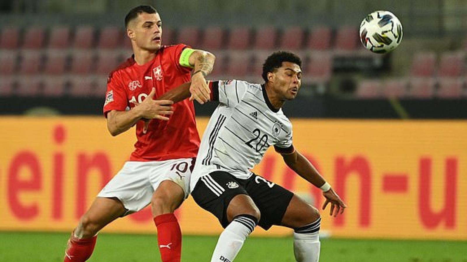 """ĐT Đức hòa nghẹt thở Thụy Sĩ 3-3 ngay sân nhà, Tây Ban Nha thua """"sốc"""" trên đất Ukraine"""