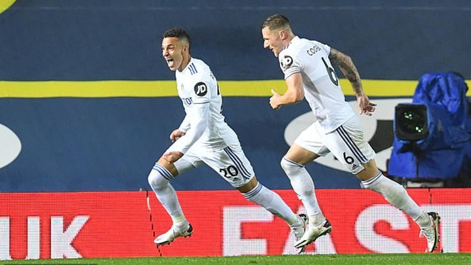 TRỰC TIẾP Leeds 1 - 1 Man City: Khi gió đổi chiều