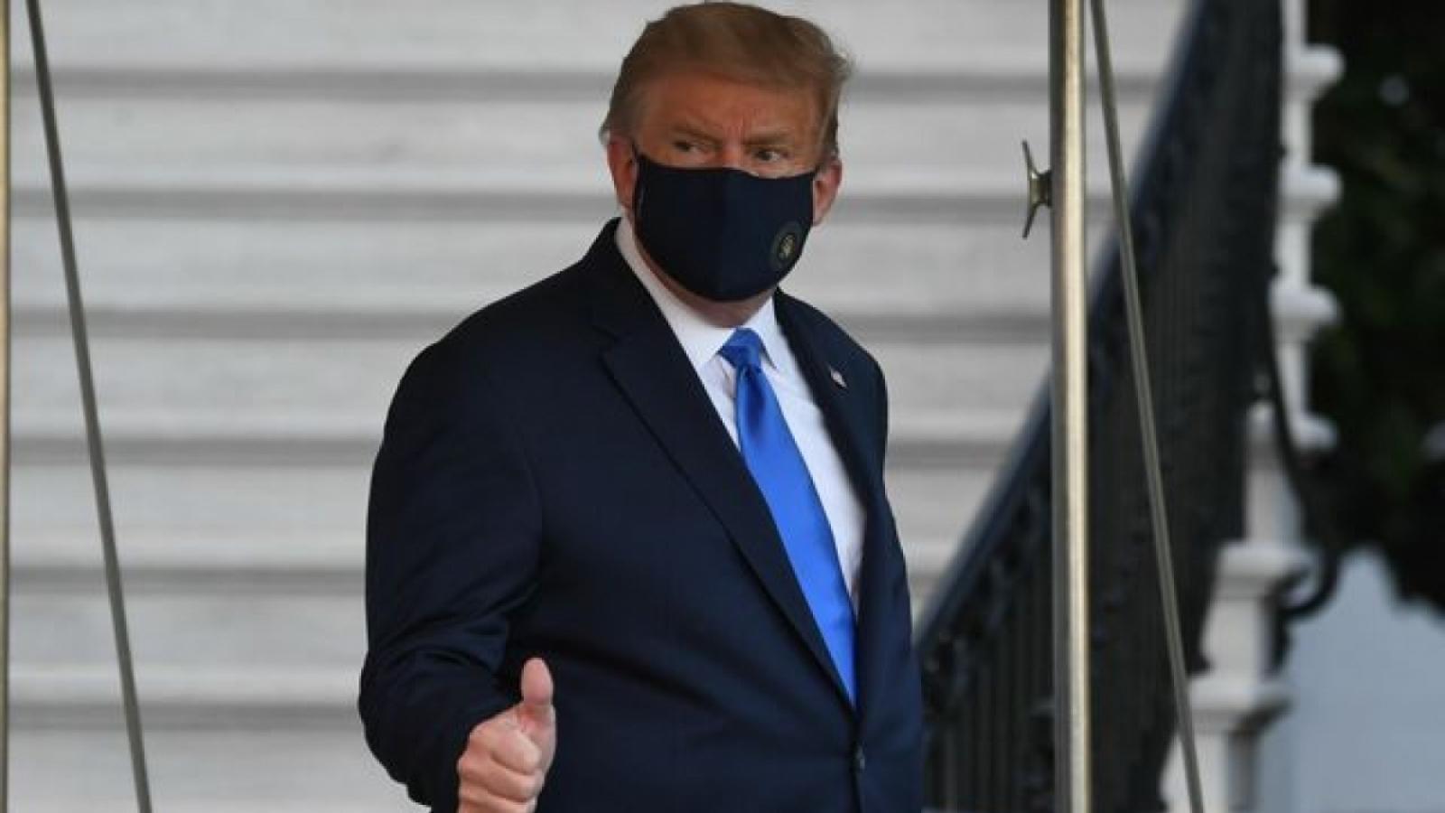 Tổng thống Mỹ cho biết vẫn rất khỏe mạnh sau khi nhiễm Covid-19