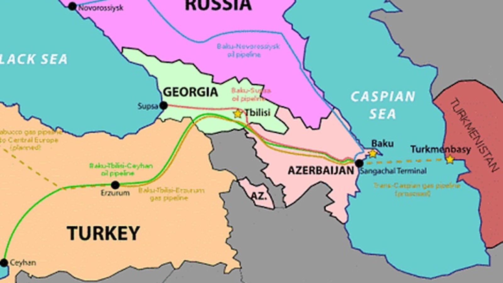 Azerbaijan tố Armenia tấn công tên lửa vào tuyến ống dẫn dầu trọng điểm
