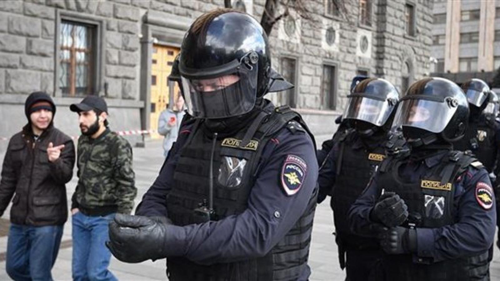 Cảnh sát Nga bắn chết thiếu niên nghi có hành vi khủng bố