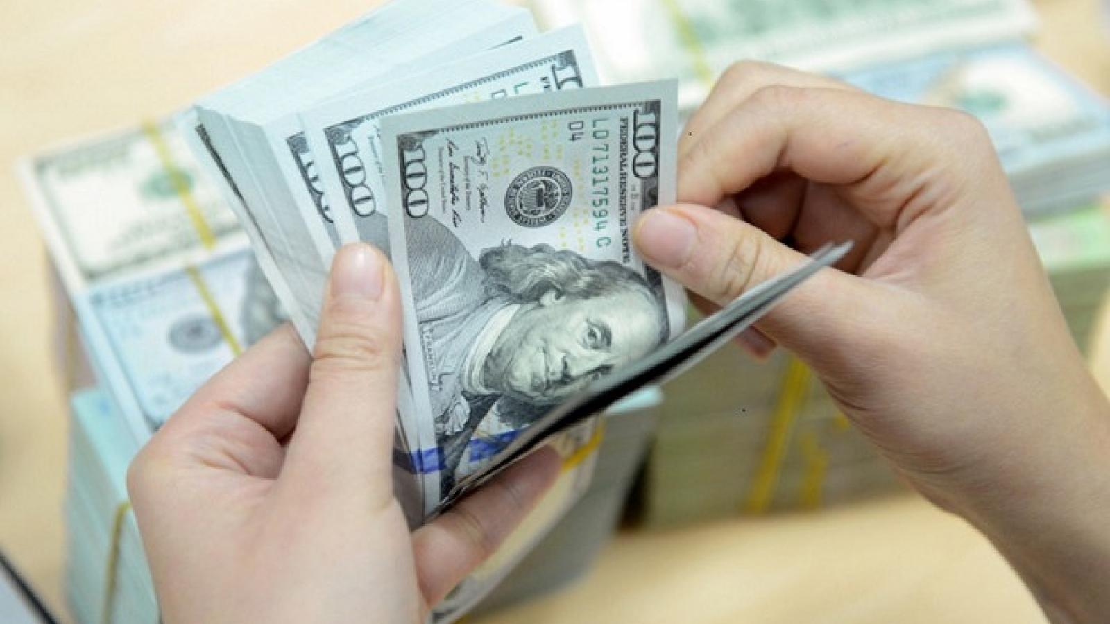 """Giá USD """"đổ dốc"""" trong phiên giao dịch cuối tuần"""
