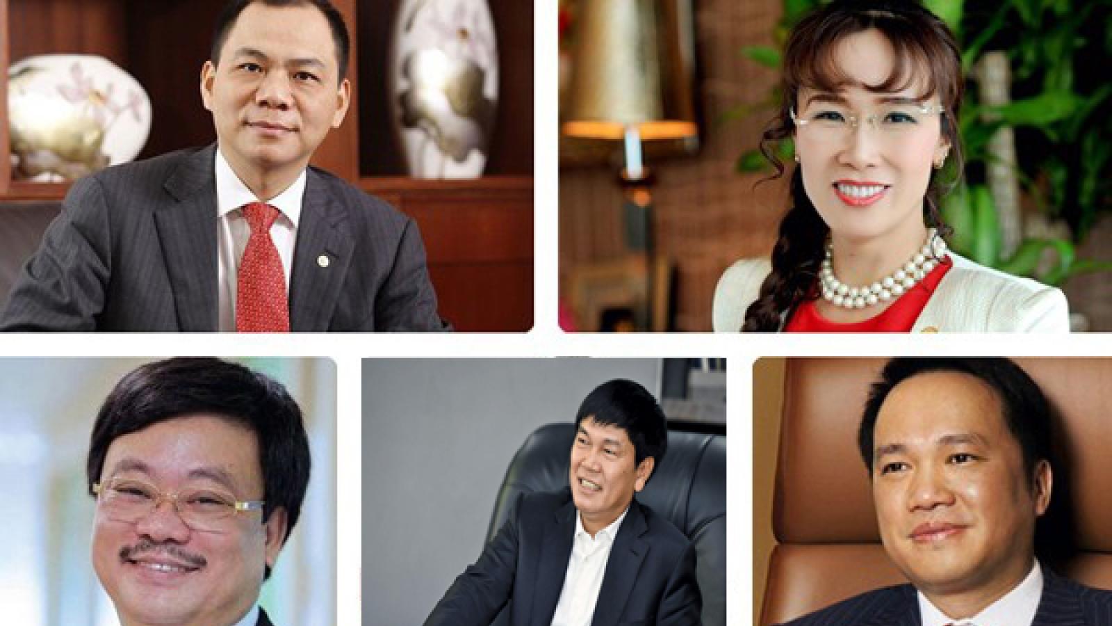 Doanh nhân nào giàu nhất sàn chứng khoán Việt Nam hiện nay?