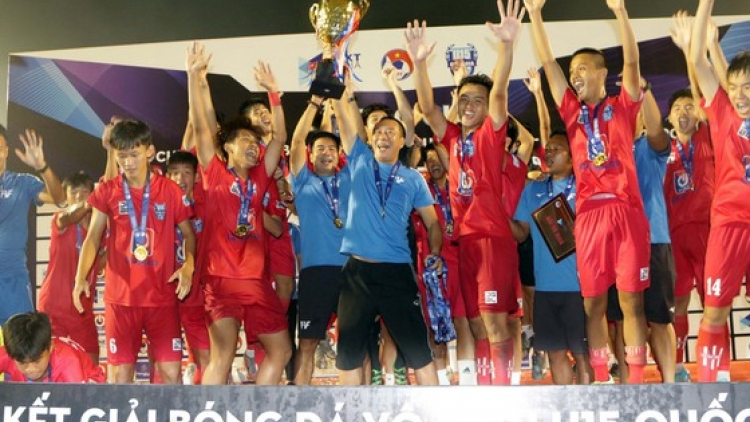 PVF emerge victorious in final of U15 National Football Championship 2020