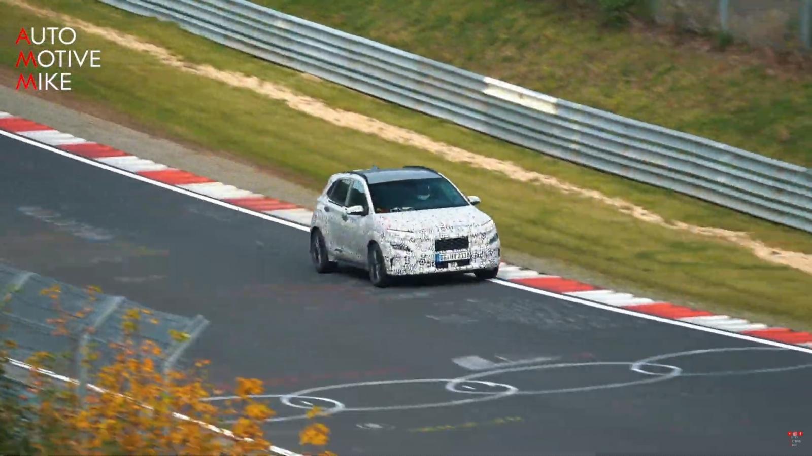 Video: Hyundai Kona N lộ diện trên đường đua Nurburgring