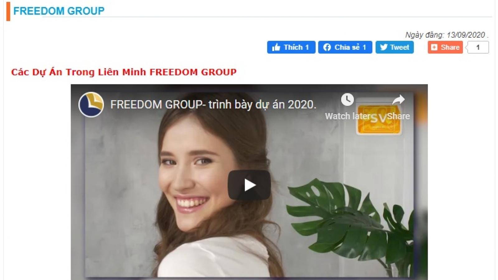 Xem xét xử lý Freedom Group và Coffeecell kinh doanh đa cấp trái phép