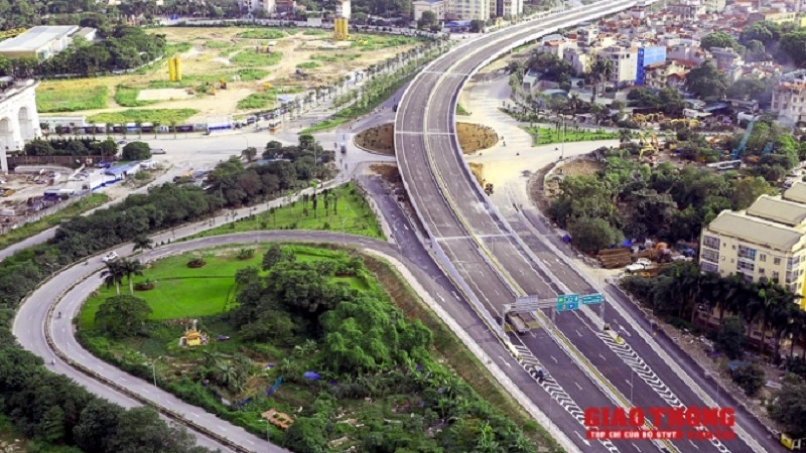 Hà Nội khánh thành cầu cạn vành đai 3 Mai Dịch-Nam Thăng Long