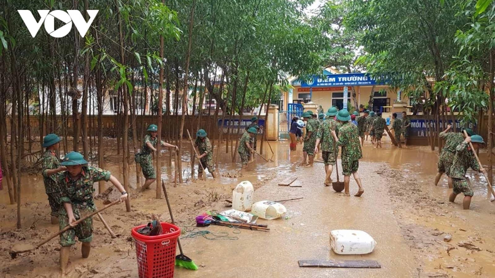 Bộ Quốc phòng triển khai công tác phòng chống và ứng phó bão số 9