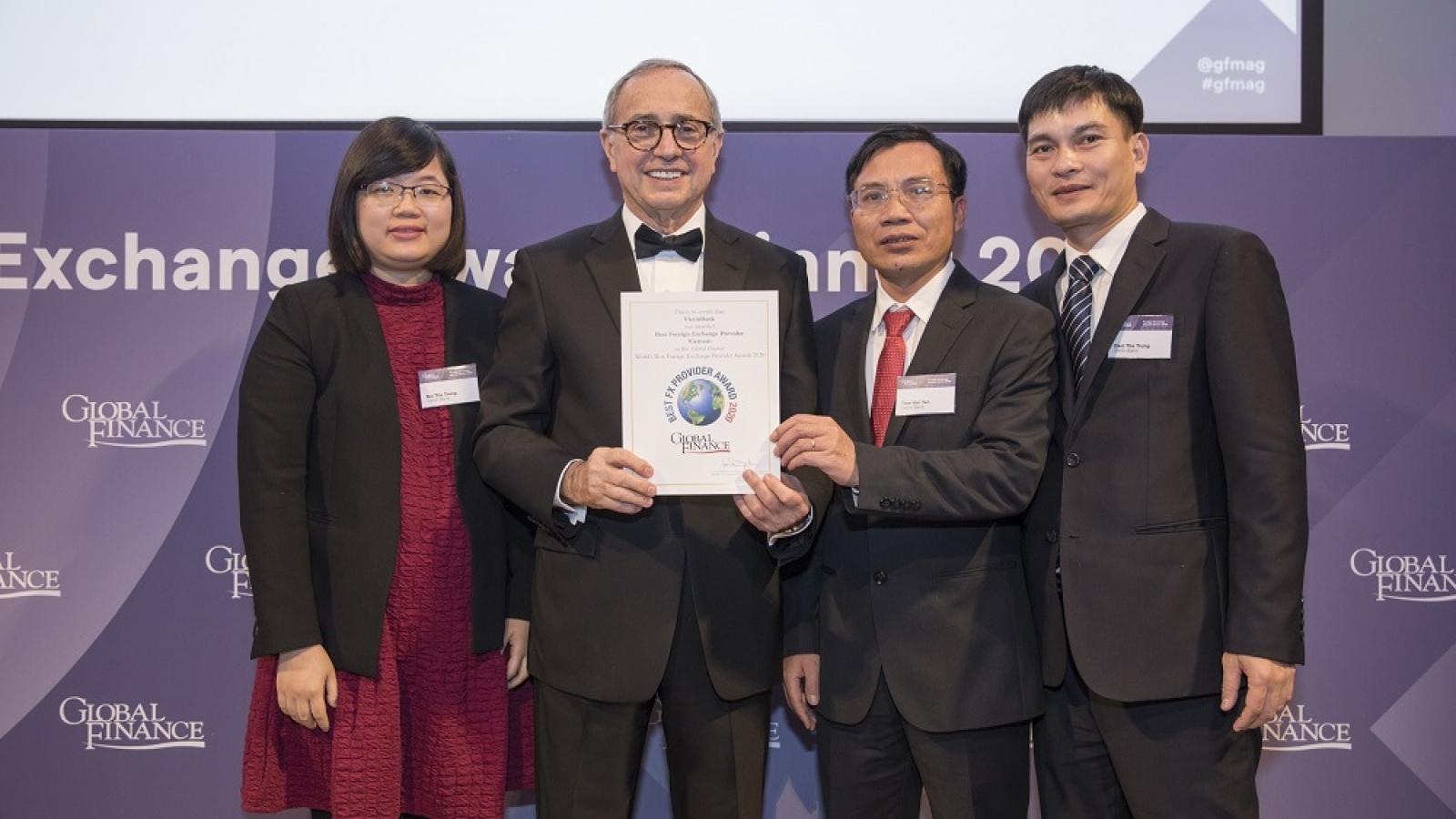 VietinBank 3 năm liên tiếp là Ngân hàng cung cấp dịch vụ ngoại hối tốt nhất Việt Nam