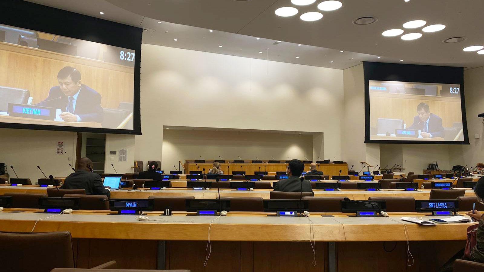 Việt Nam đại diện các nước ASEAN phát biểu vềứng phó Covid-19