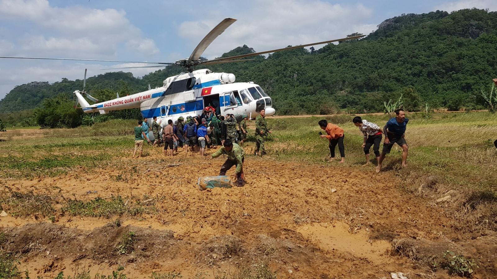 Quảng Trị di dời dân vùng xung yếu ứng phó với áp thấp nhiệt đới