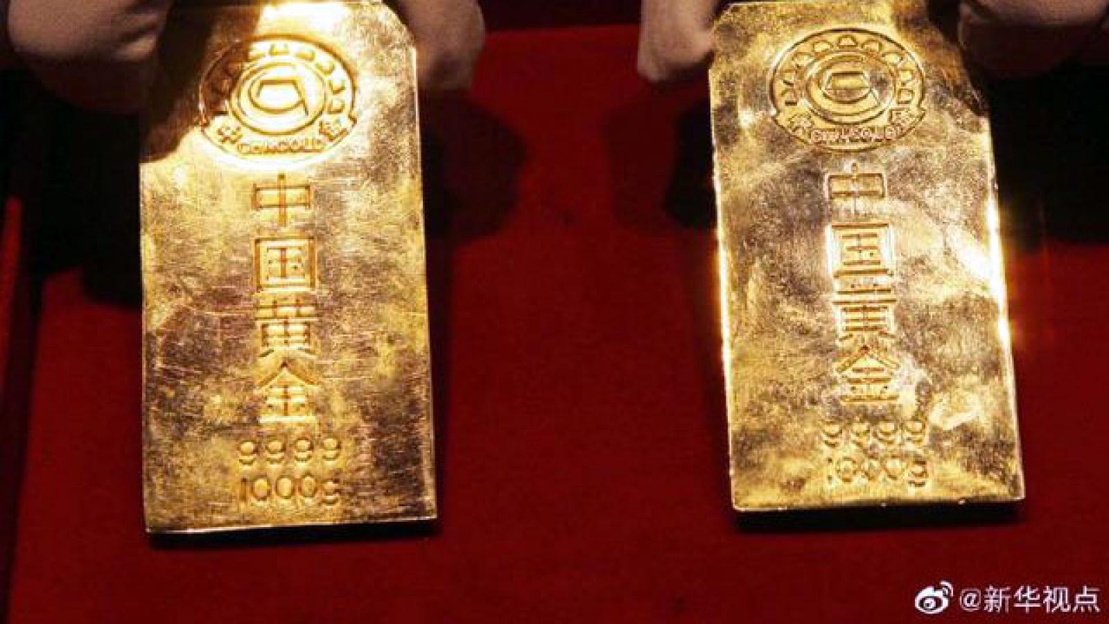 Sản lượng vàng của Trung Quốc đứng đầu thế giới 13 năm liên tiếp