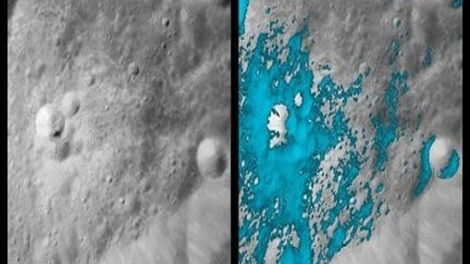 NASA công bố phát hiện tìm thấy nước trên Mặt Trăng