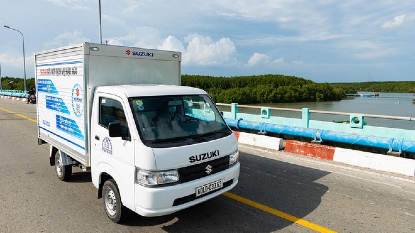 Suzuki thực hiện cách mạng hậu mãi, tung khuyến mãi đặc biệt cho xe tải nhẹ