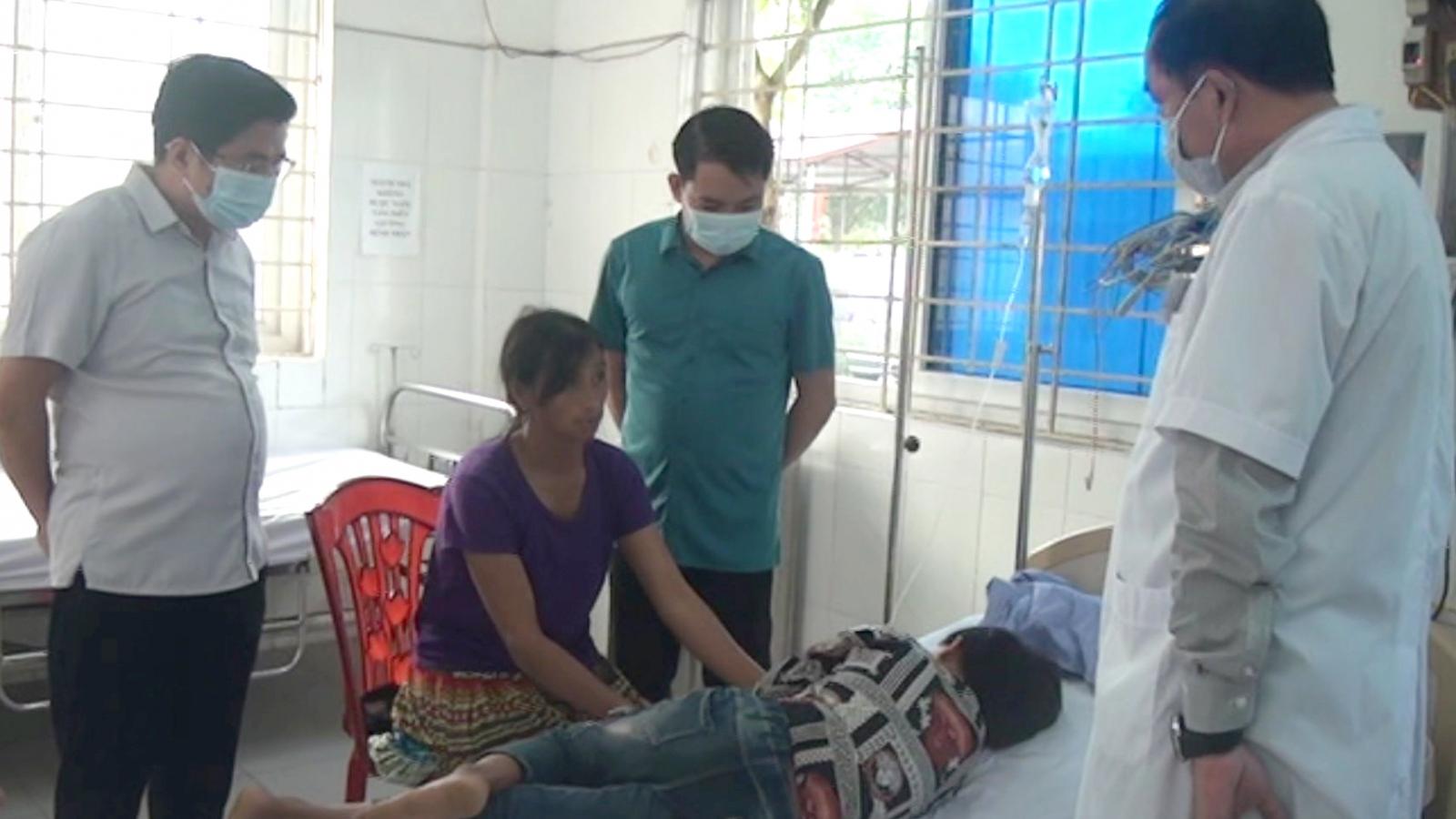 57 học sinh tỉnh Lào Cai nhập viện do ngộ độc thực phẩm