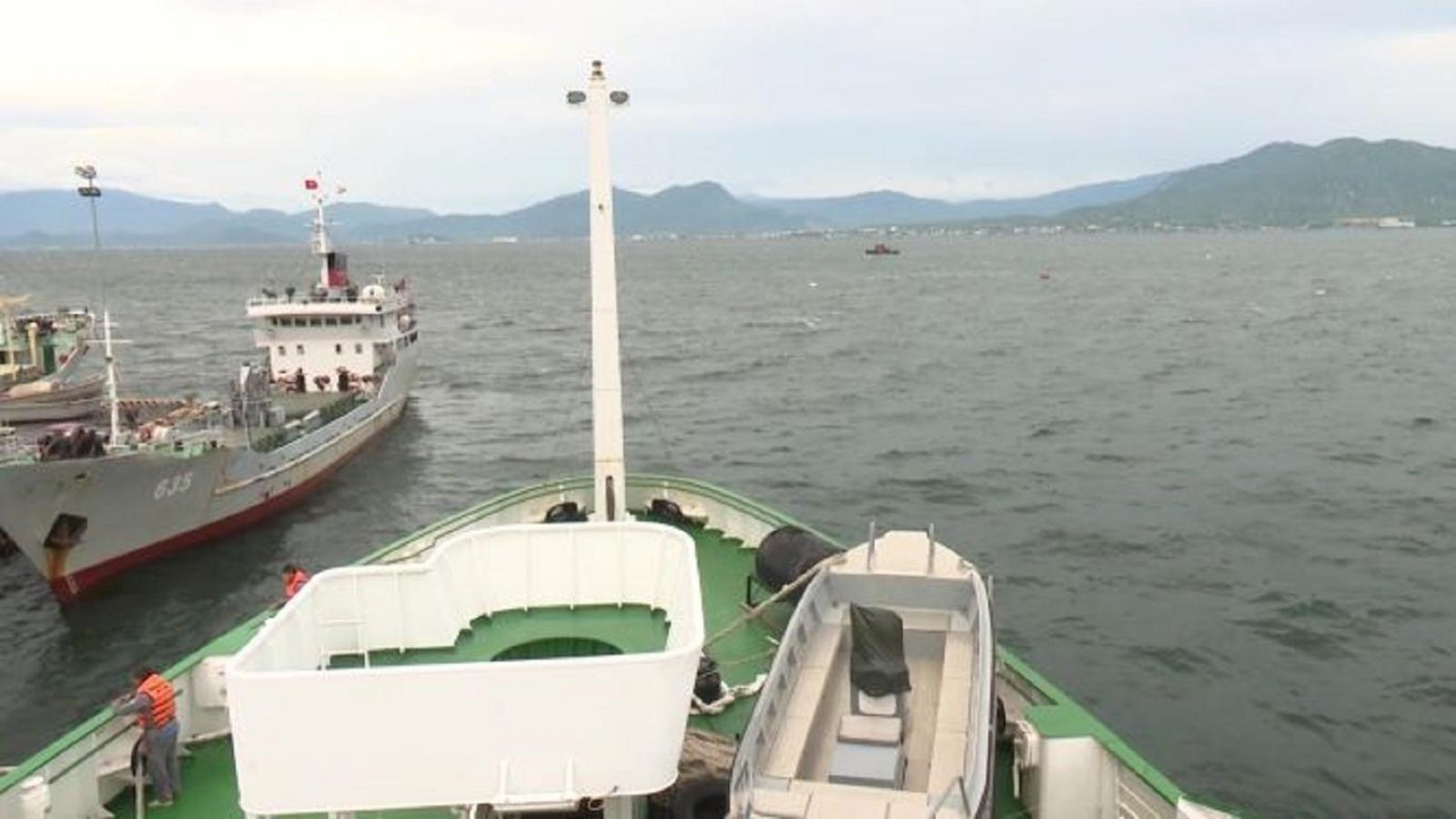Tiếp cận được tàu cá Bình Định, tiếp tục tìm kiếm 26 ngư dân mất tích