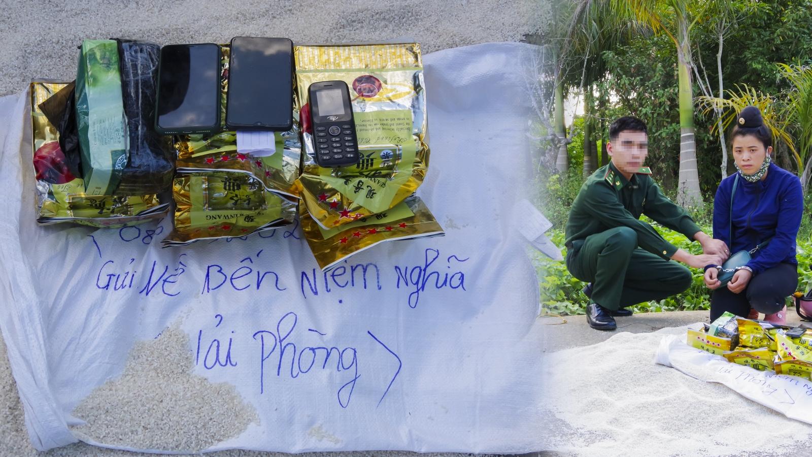 Nữ 9X bị bắt khi vận chuyển 6kg ma tuý đá để lấy 5 triệu đồng tiền công