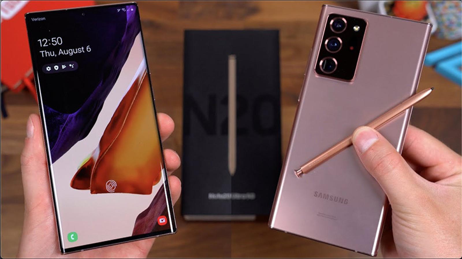 Galaxy Note21 dự kiến ra mắt vào năm 2021
