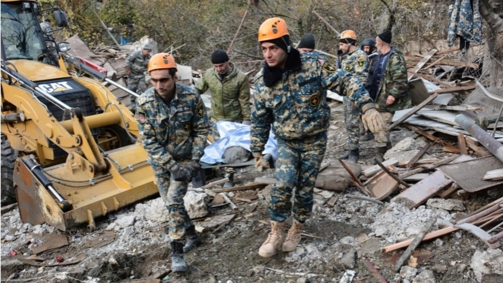 Azerbaijan và Armenia trao đổi thi thể binh sĩ
