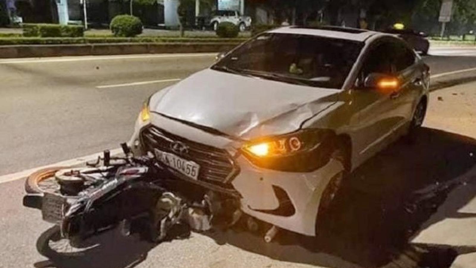 Thanh tra giao thông đi ngược chiều gây tai nạn chết người