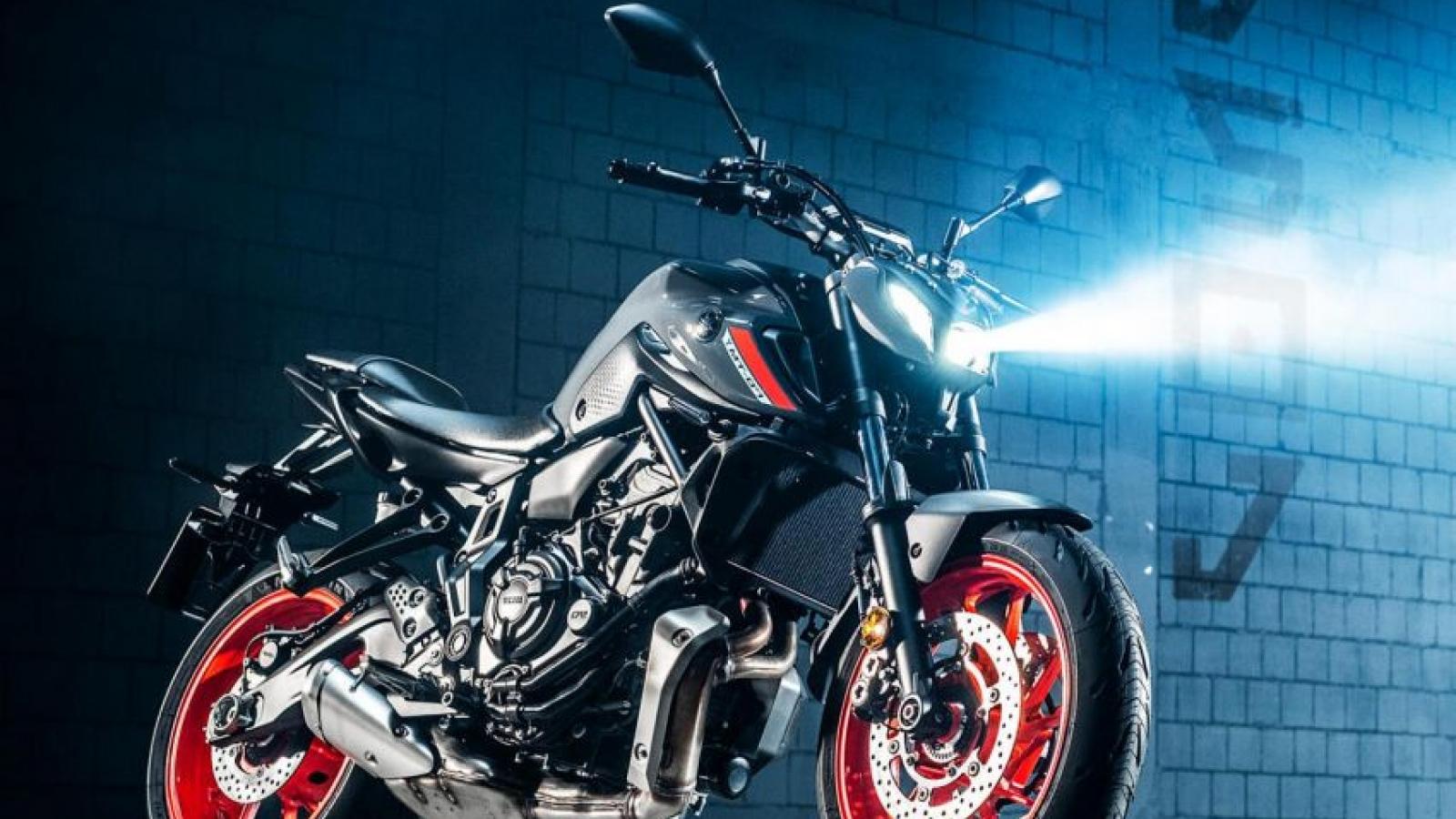 Yamaha MT-07 2021 ra mắt với nhiều chi tiết được nâng cấp