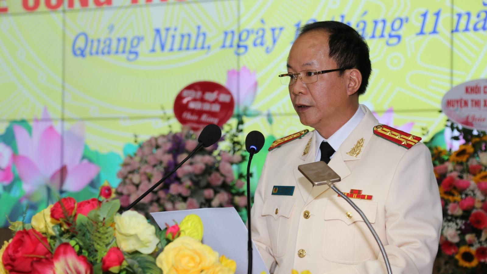 Trưởng Công an huyện Vân Đồn được bổ nhiệm làm PGĐ Công an tỉnh Quảng Ninh