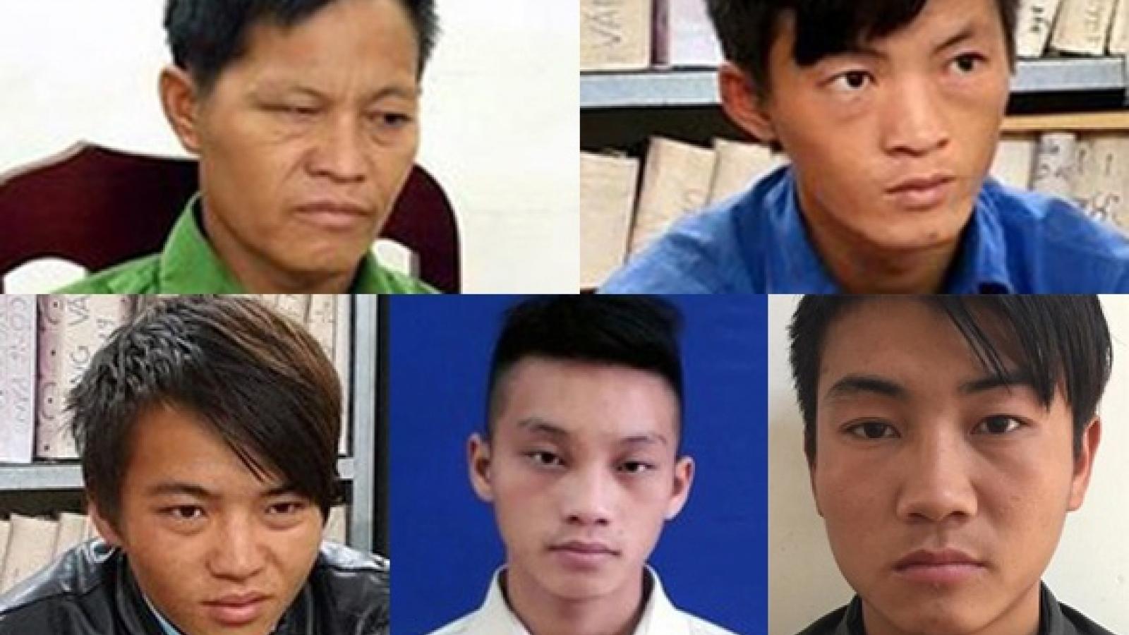 Khởi tố 5 bố con giết 2 hàng xóm ở Hà Giang