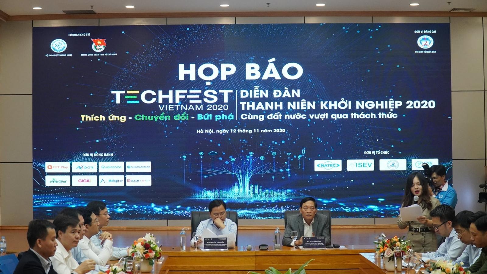 Ngày hội khởi nghiệp đổi mới sáng tạo quốc gia Techfest sẽ diễn ra ngày 27/11