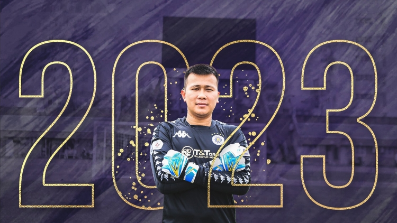"""Hà Nội FC gia hạn hợp đồng với """"người nhện"""" thêm 3 năm"""