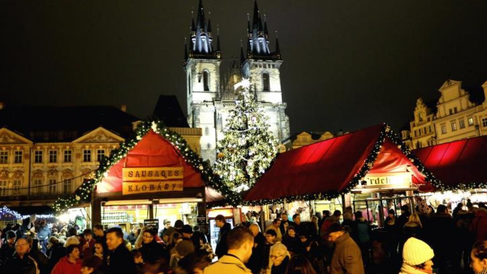 Thủ đô Praha sẽ không tổ chức Giáng sinh như mọi năm