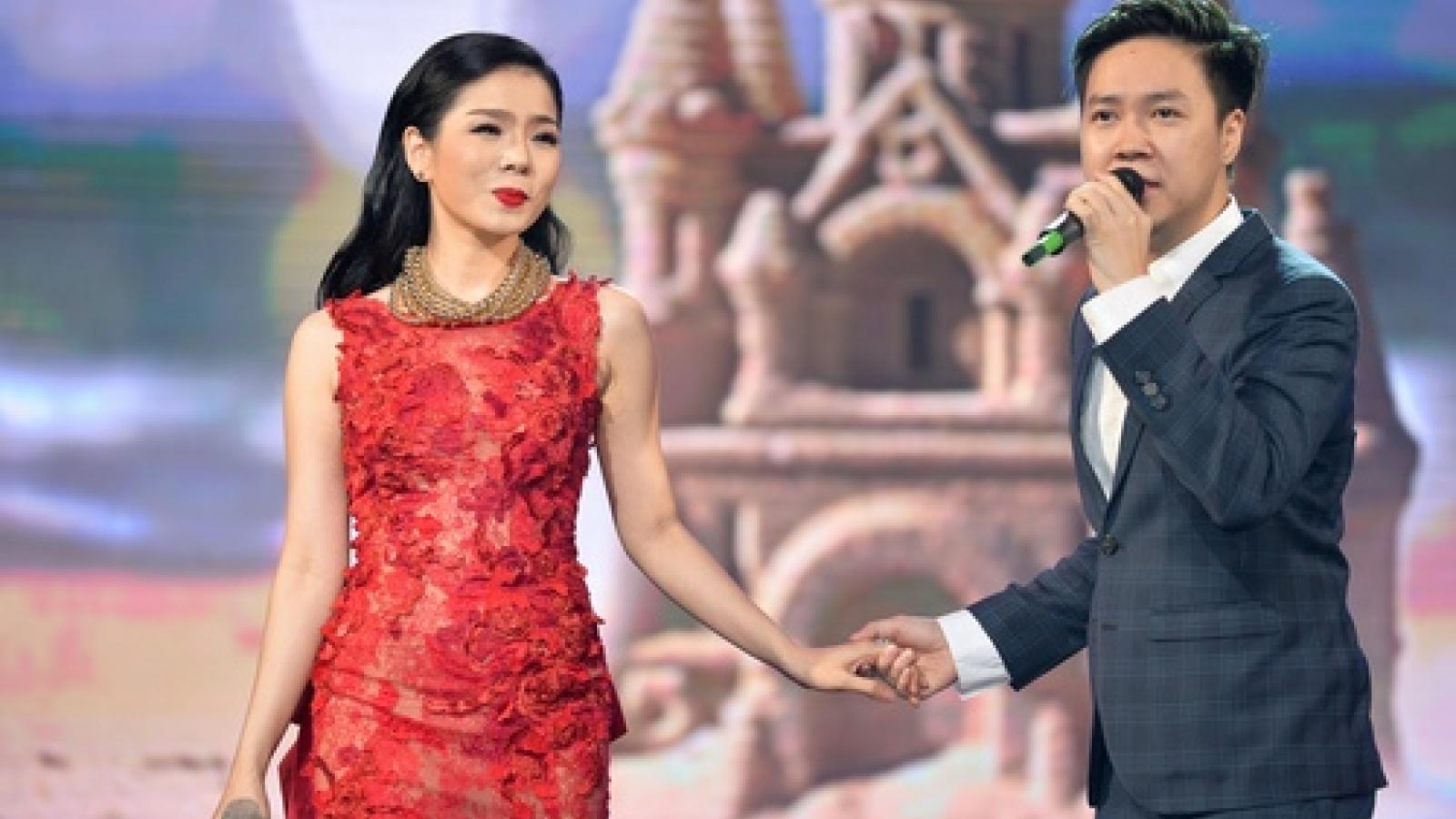 """Lệ Quyên góp giọng trong show""""Người tình"""" cùngJimmii Nguyễn, Lê Hiếu"""