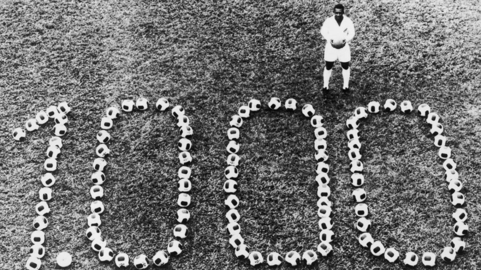 """Ngày này năm xưa: """"Vua bóng đá"""" Pele ghi bàn thắng thứ 1000 trong sự nghiệp"""