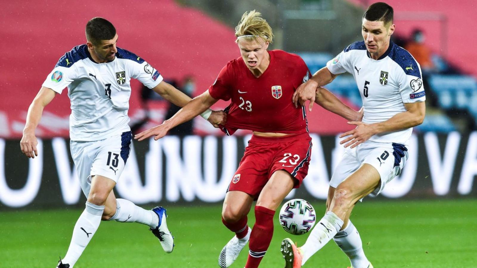 Đồng đội mắc Covid-19, Haaland mất cơ hội tranh tài ở Nations League