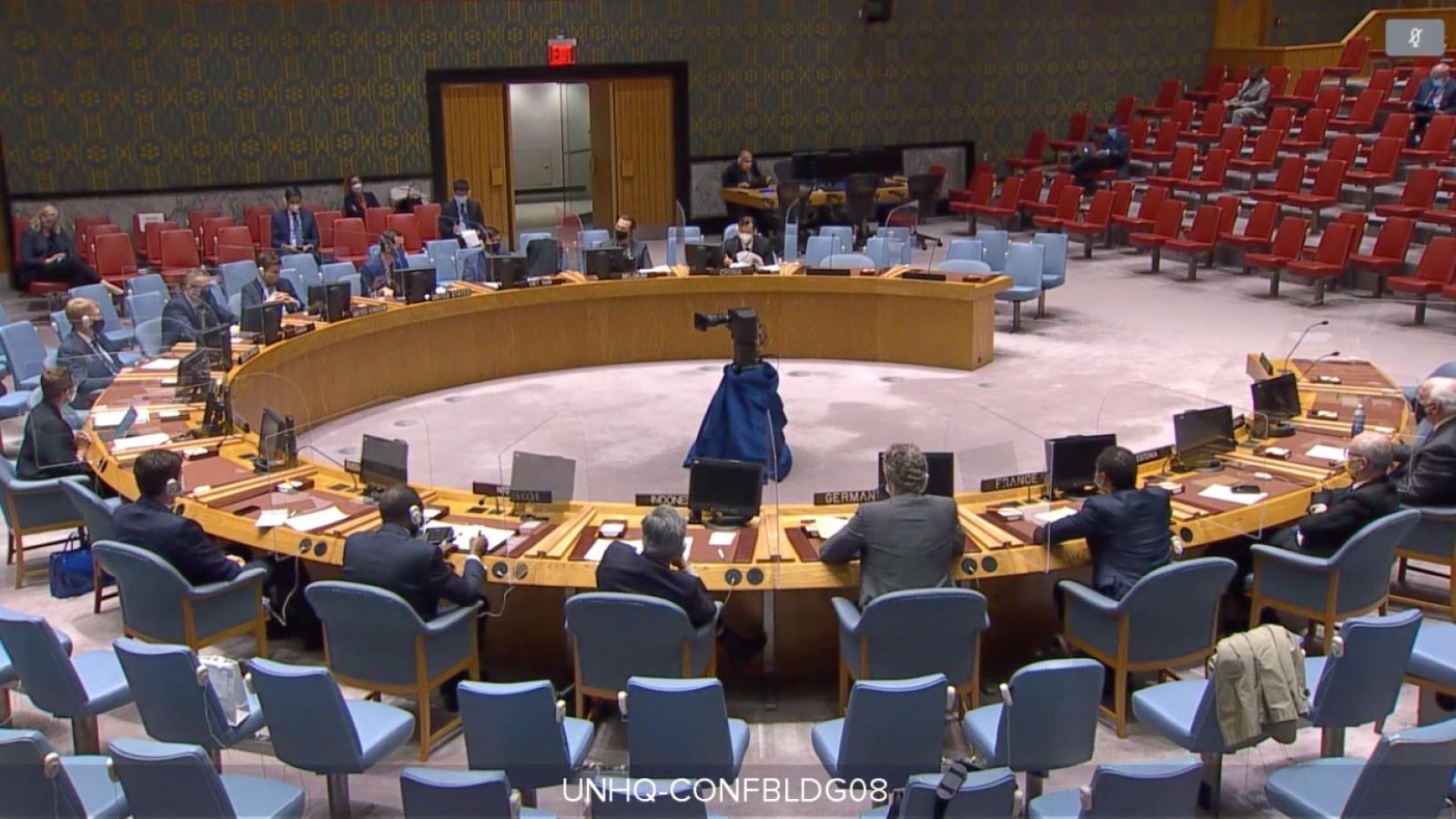 Hội đồng Bảo an LHQ họp bàn về tình hình Lebanon và Mali